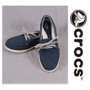 88efb2e65db crocs Shoes - Crocs Women s Walu II Canvas Loafer